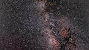 Preview wallpaper milky way, stars, glare, sky, space