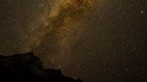 Preview wallpaper milky way, stars, starry sky, night, dark