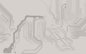 Preview wallpaper minimalism, background, macro, chip, board, circuit