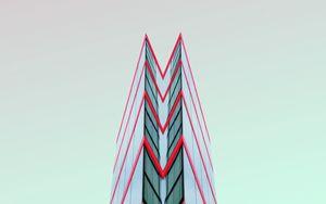Preview wallpaper minimalism, building, architecture, symmetry