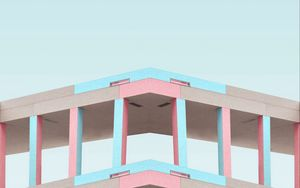 Preview wallpaper minimalism, building, architecture