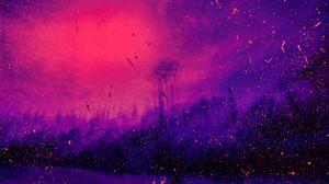Preview wallpaper spots, dots, lilac, purple, spray