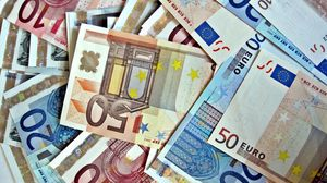 Preview wallpaper money, euro, background