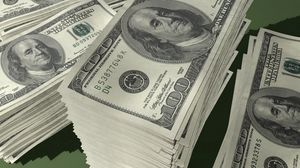 Preview wallpaper money, pack, stack, dollars