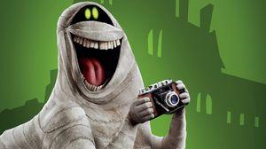 Preview wallpaper monster, smile, laugh, camera