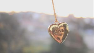 Preview wallpaper mood, jewelry, accessories, chain, pendant, heart