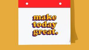 Preview wallpaper motivation, inspiration, inscription, phrase, text, happy