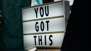 Preview wallpaper motivation, lettering, words, macbook