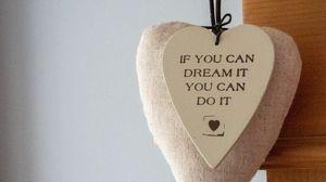 Preview wallpaper motivation, phrase, heart, inscription