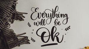Preview wallpaper motivation, positive, lettering, words, inscription