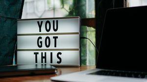 Preview wallpaper motivation, positive, words, inscription