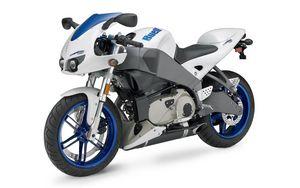 Preview wallpaper motorbike, blue, buell xb12r
