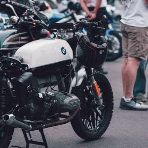 Preview wallpaper motorcycle, bike, helmet