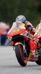 Preview wallpaper motorcycle, bike, motorcyclist, race