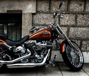 Preview wallpaper motorcycle, bike, side view, wheel