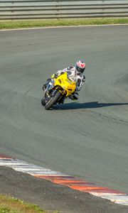 Preview wallpaper motorcycle, bike, sport bike, moto, race, track