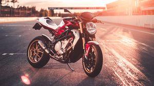 Preview wallpaper motorcycle, bike, sports, sport bike, side view
