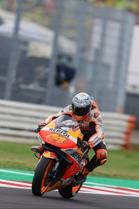 Preview wallpaper motorcycle, motorcyclist, track, race