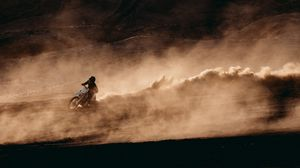Preview wallpaper motorcyclist, motorcycle, racing, motorcycling, sport