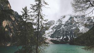 Preview wallpaper mountains, coast, peace