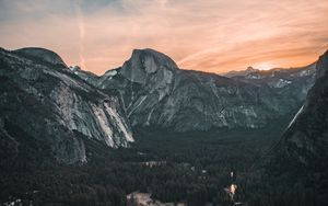 Preview wallpaper mountains, yosemite valley, united states