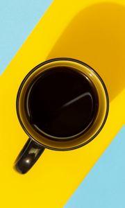 Preview wallpaper mug, coffee, drink, stripes, bright