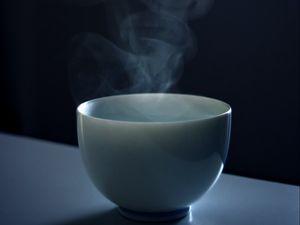 Preview wallpaper mug, steam, minimalism