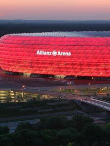 Preview wallpaper munich, germany, allianz arena, stadium