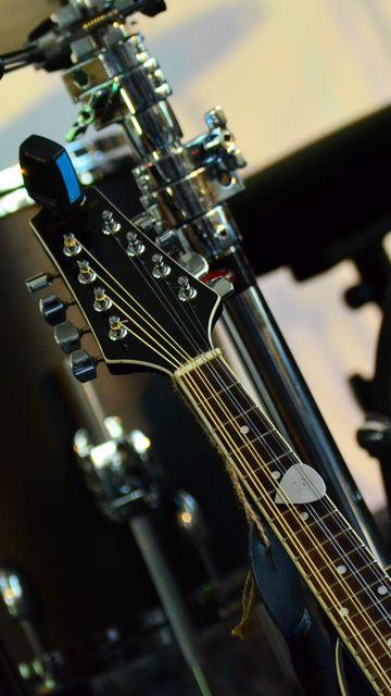 360x640 Wallpaper musical instrument, music, percussion, guitar