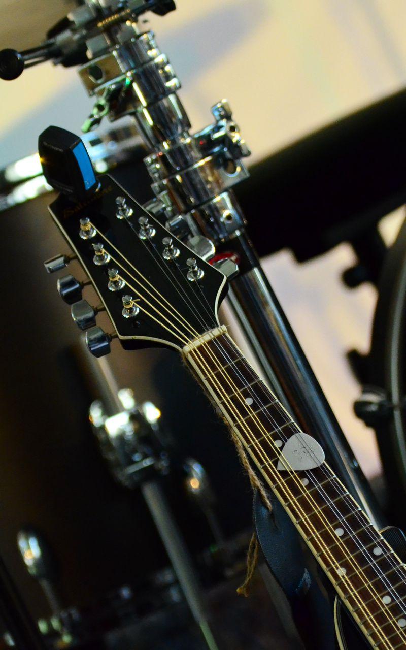 800x1280 Wallpaper musical instrument, music, percussion, guitar