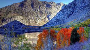 Preview wallpaper nature, autumn, mountains