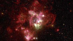 Preview wallpaper nebula, red, hubble, telescope