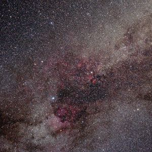 Preview wallpaper nebula, stars, glare, shine, space
