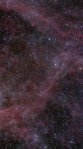 Preview wallpaper nebula, stars, glare, space, dark