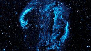 Preview wallpaper nebula, ultraviolet, stars, galaxy, astronomy