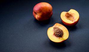 Preview wallpaper nectarines, fruit, bone