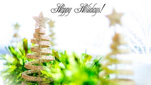 Preview wallpaper new year, holiday, jewelry, glitter