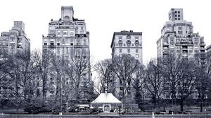 Preview wallpaper new york, central park, garden street