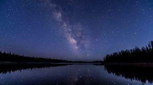 Preview wallpaper night sky, stars, starry sky