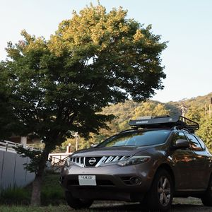 Preview wallpaper nissan, car, suv, brown