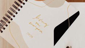 Preview wallpaper note, glasses, light, aesthetics