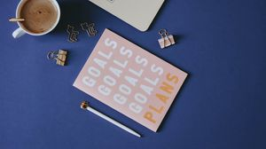 Preview wallpaper notebook, inscription, words, office