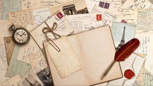 Preview wallpaper notebook, write, watch, pen