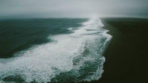 Preview wallpaper ocean, sea, beach, surf