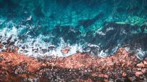 Preview wallpaper ocean, shore, water, manly, australia