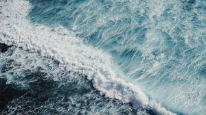 Preview wallpaper ocean, surf, foam, sea, water
