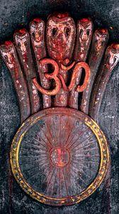 Preview wallpaper om, symbol, sacral, mantra, yoga, meditation
