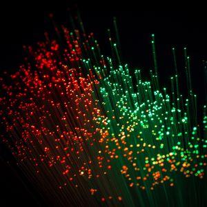 Preview wallpaper optical fiber, glare, thread, shine