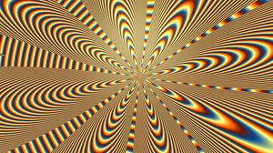 Preview wallpaper optical illusion, rotation, lines, wavy