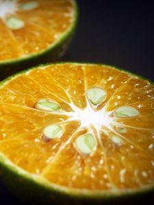 Preview wallpaper orange, citrus, cut